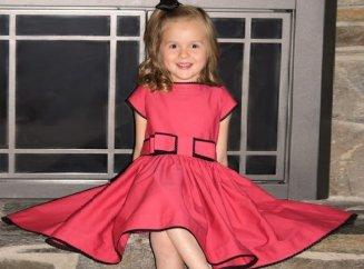 Шьем платья своими руками для девочек