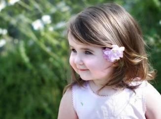 Прически для девочки двух лет