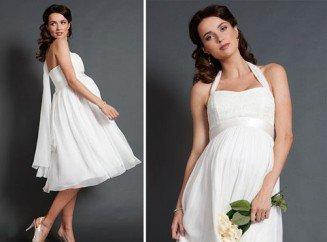 Свадебное платье для беременных сшить