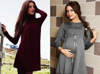 удобно ли вязаное платье для беременной
