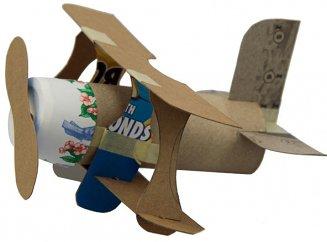 Как сделать из бумаги своими руками самолета