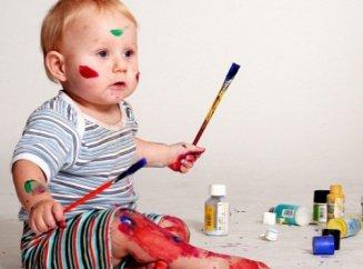 Что значит если ребенок рисует коричневым цветом