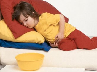 Ребенка тошнит ночью