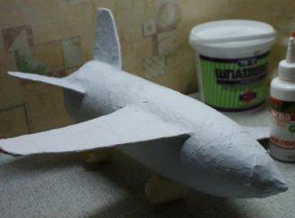Как сделать самолет из пластиковой бутылки 93