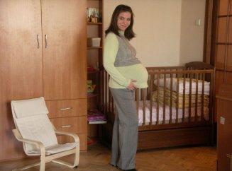 38 неделя беременности тянет живот
