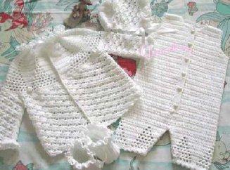 вяжем летнюю детскую одежду