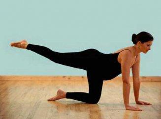 Упражнения для ног и бедер для беременных